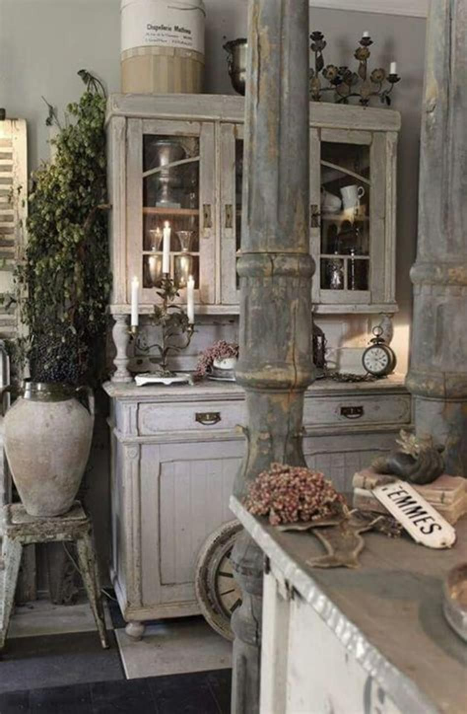 40 Amazing Shabby Chic Country Kitchen Decorating Ideas For 2019 2 Country Kitchen Decor French Country Decorating Kitchen Shabby Chic Kitchen