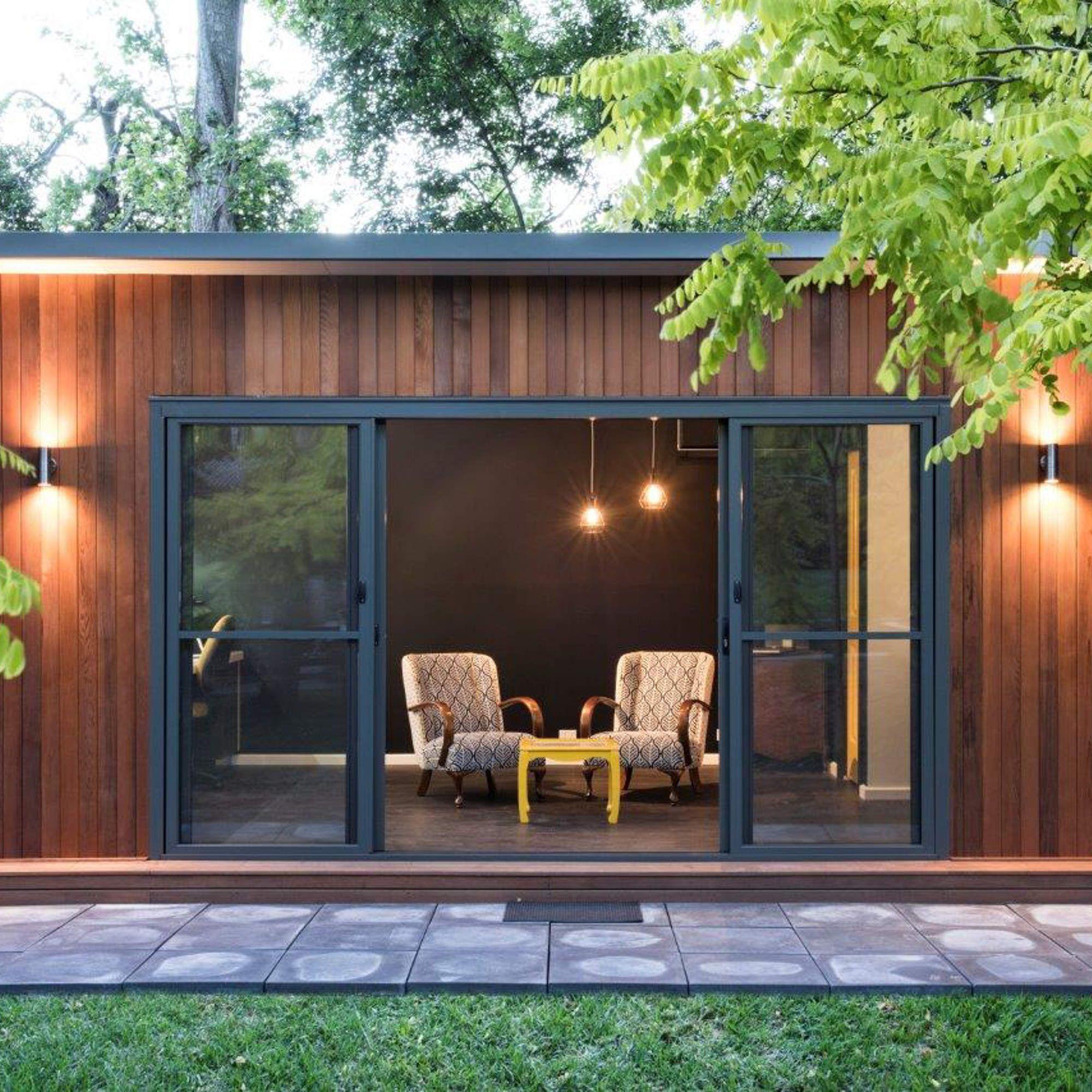 The Perfect Modular Backyard Office