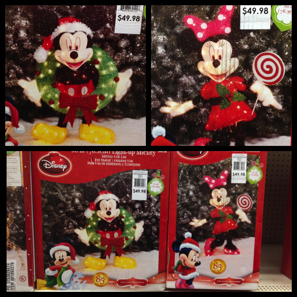 my disney life holiday decorations outdoor decor at wal mart