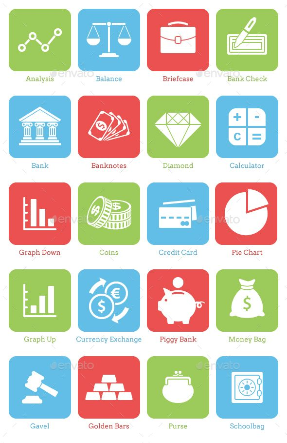 20 Finance Icons AD Finance, AFFILIATE, Icons in 2020