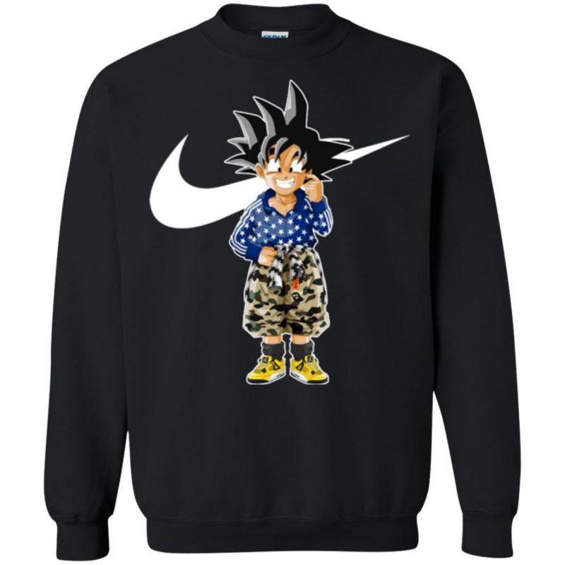Dragon Ball Hypebeast Nike Air Jordan Goku Fandom Sweatshirt Unicornaz Fortnite Sport Trending Apparel Fandom Sweatshirt Sweatshirts Shop Sweatshirts