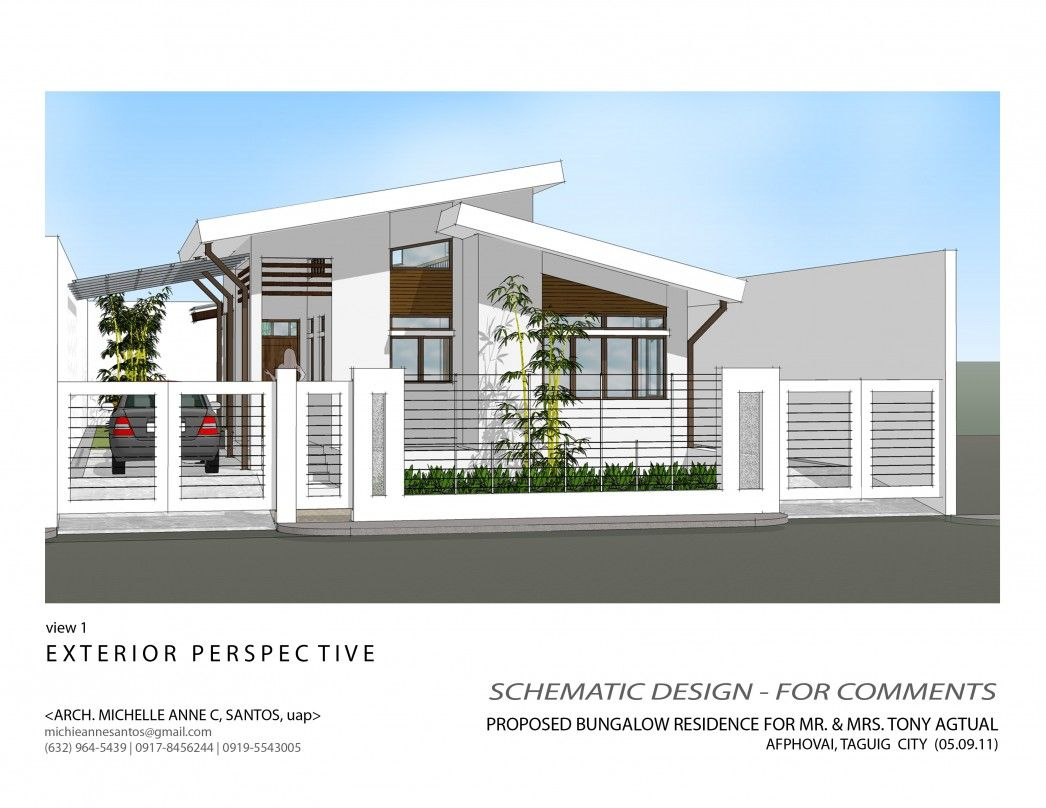 Interior design alluring modern bungalow house exterior zen also rh in pinterest