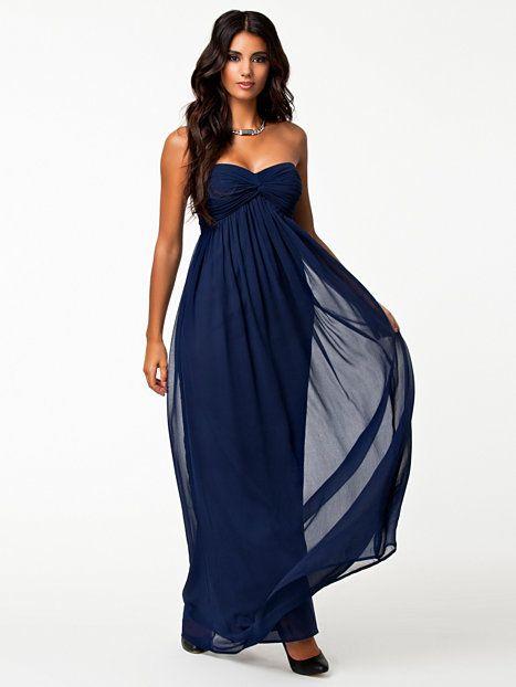 92317536cb6a Dreamy Dress - Nly Trend - Navy - Festklänningar - Kläder - Kvinna - Nelly.