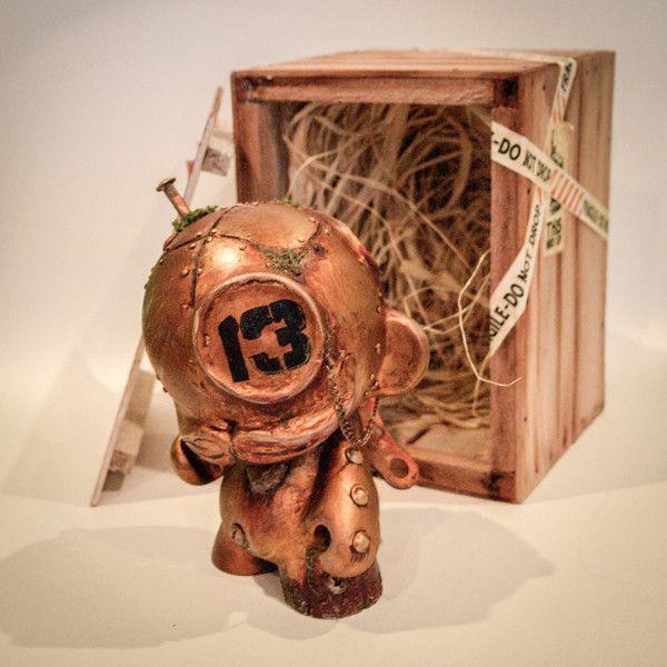 Tick Tock The Munky Butler by Dan Shearn, via Behance