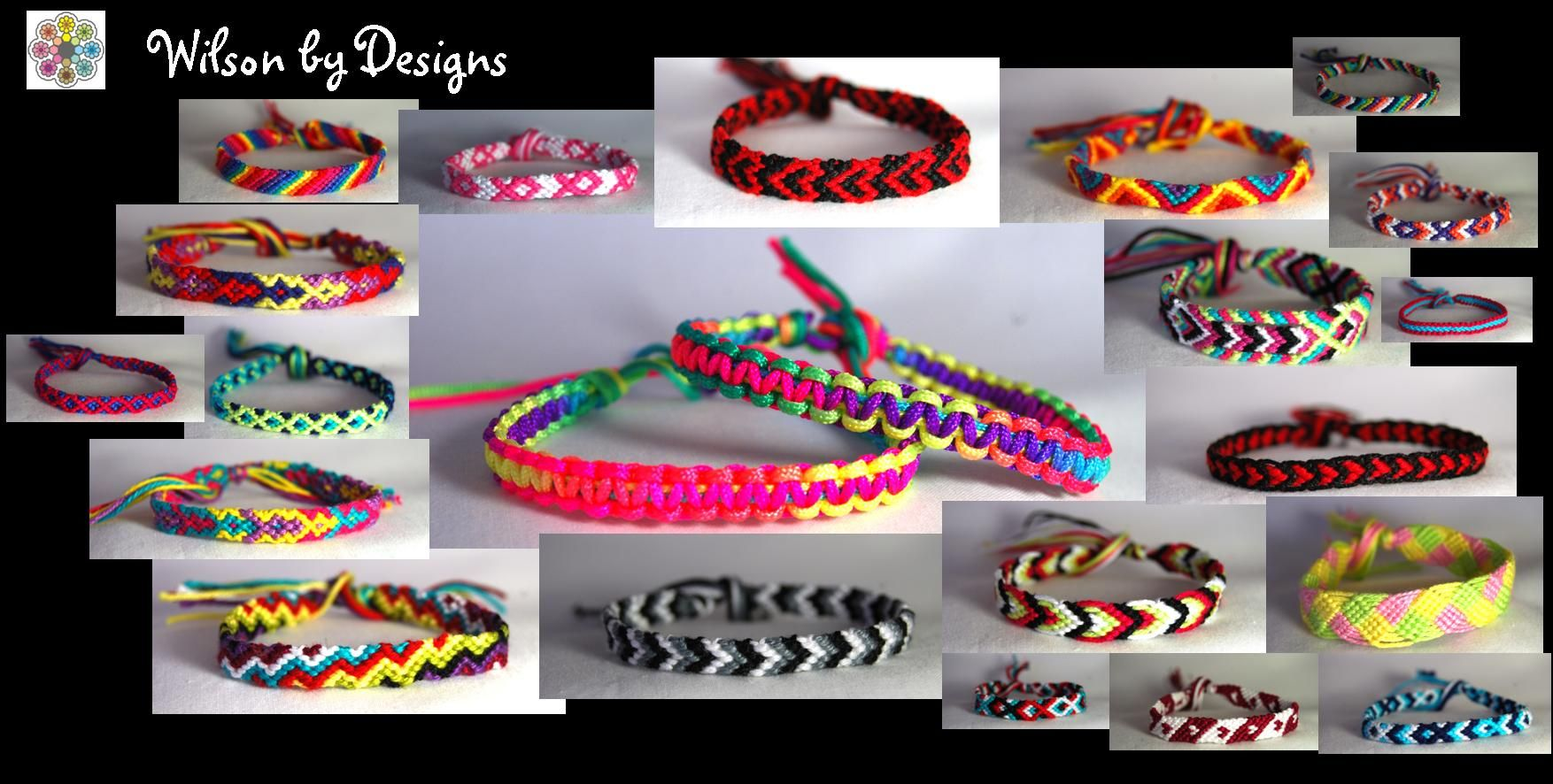 kids bracelets takes braided bands for make friendship and craft fabric