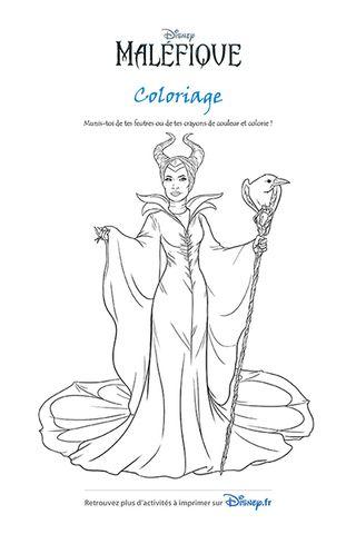 Coloriage Maléfique Coloriage Princesse Disney Pages
