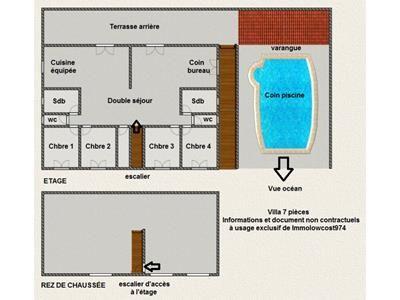 IMMOLOWCOST974, IMMOLOWCOST974 Villa 7 pièces Sainte Suzanne 97441