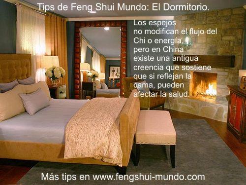 Feng shui habitacion espejos concejos pinterest feng for Espejos feng shui decoracion