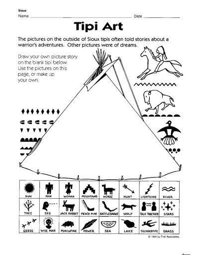 Image result for elementary art lesson native american