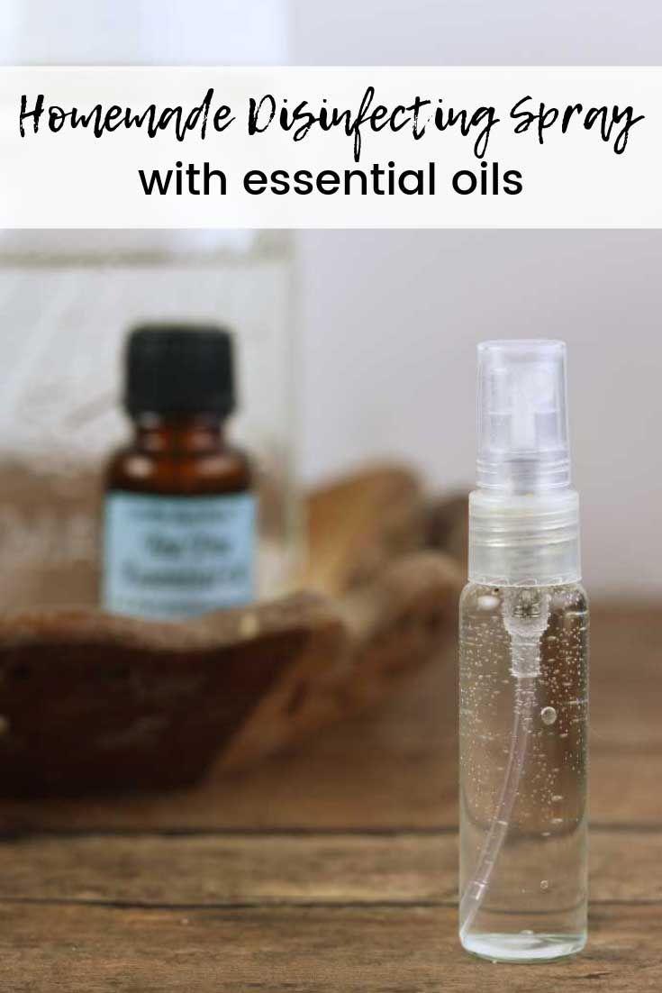 Disinfectant spray diy recipe and deodorizer recipe with