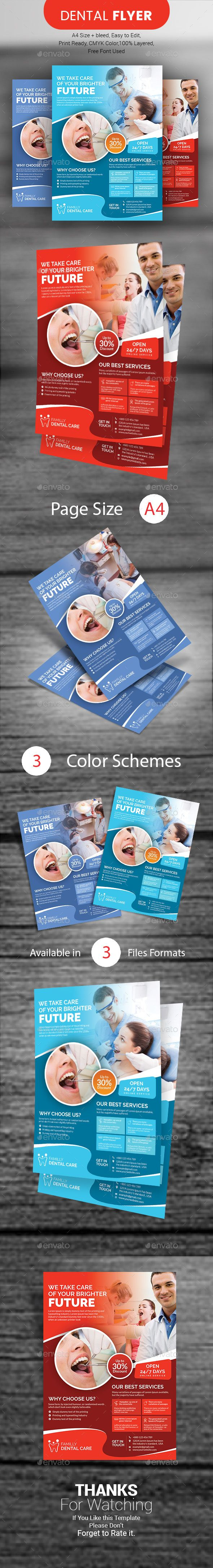 dental flyer corporate flyers