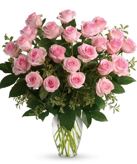 Rose Flowers Wayne Nj Same Day Rose Delivery By Bosland S Flowers Boslandsflowershop Wayneflorist Waynefl In 2020 Pink Roses Flower Delivery Service Sweet Bouquet
