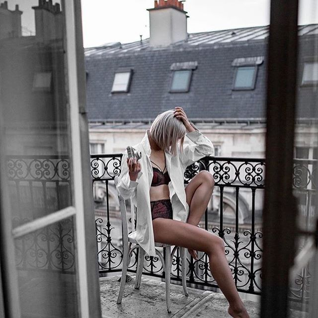 Postcards from Paris by @beigerenegade #loveintimo #getfitted #feelgoodfit #brachat