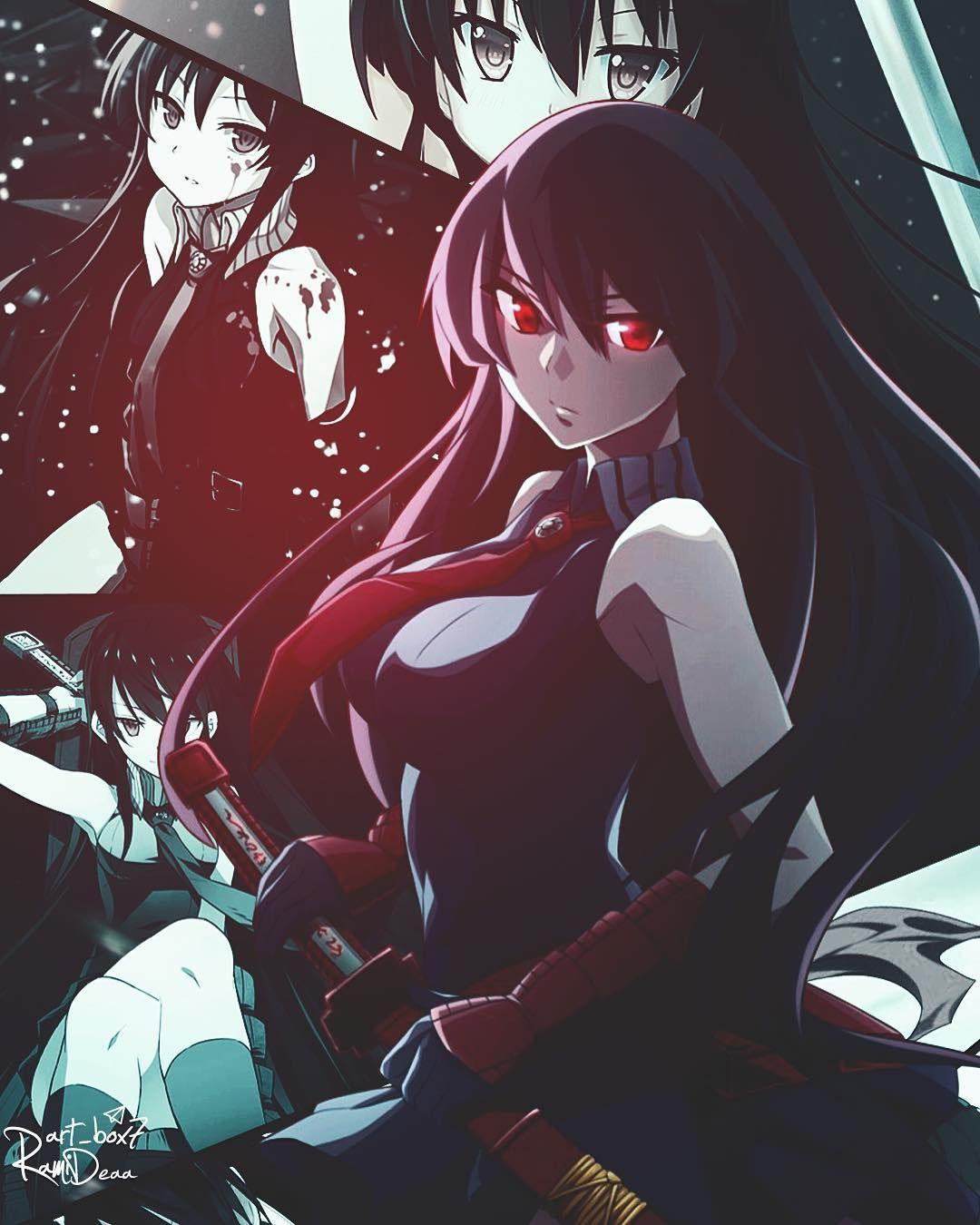 Akamegakill Akame Anime Art Design Wallpaper イラスト