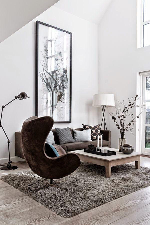 Fritz Hansen Egg Chair Design by Arne Jakobsen http://mymagicalattic.blogspot.com.tr/2015/03/fritz-hansen-egg-chair-arne-jakobsen.html