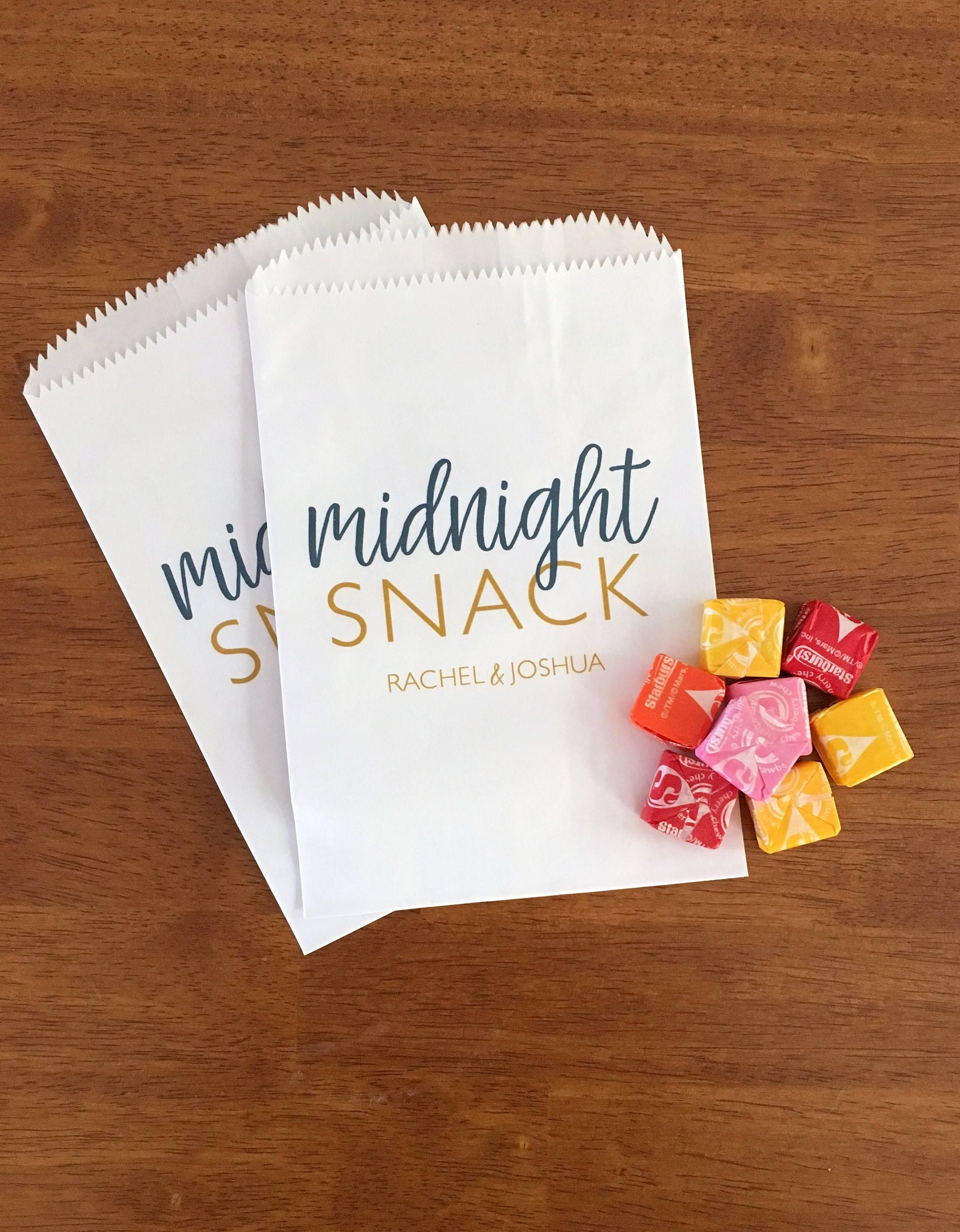 Love These Cookie Bags Perfect For A Wedding Dessert Bar