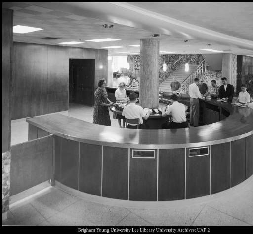 The Circulation Desk In New Library Byu Photographs