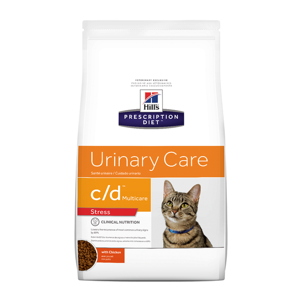 Hills PD C/d Multicare Urinary Stress For Cats (6kg