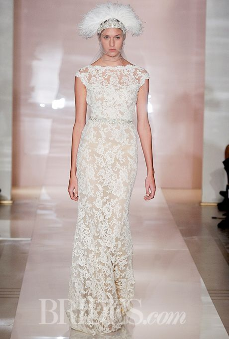 90+ Lace Wedding Dresses From the Runway! | Reem acra, Reem acra ...