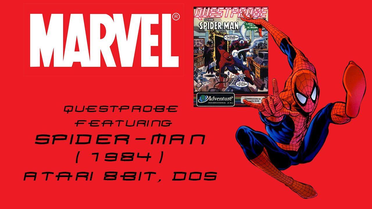 Questprobe Featuring Spider Man (1984) Gameplay