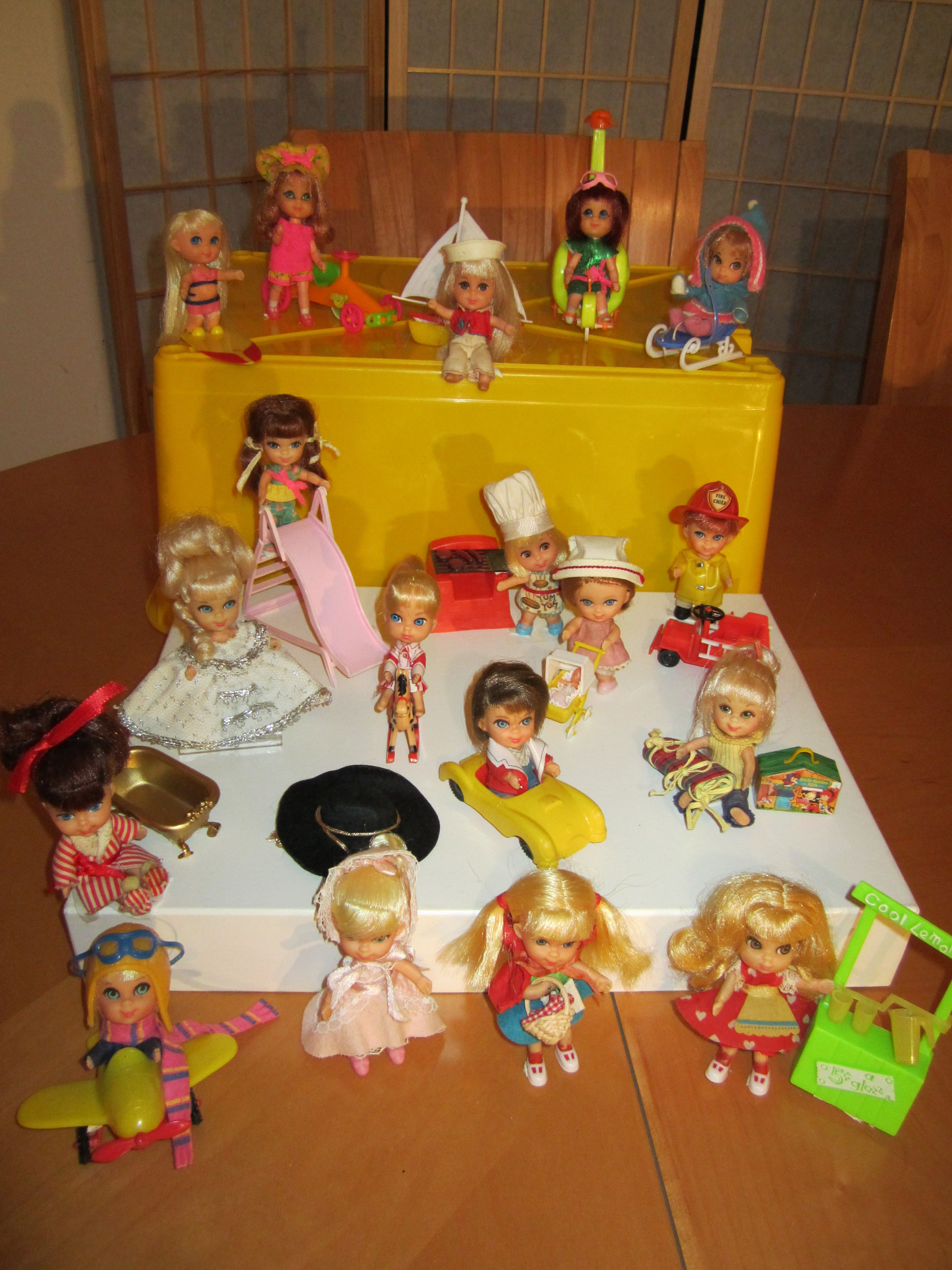 Toys images with names  Liddle Kiddle collection  Little KiddlesDawn DollsFlatsy Dolls