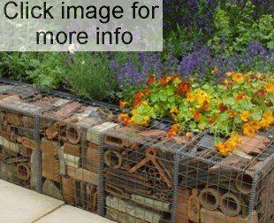 Recycled Gabion Fill Sloped Garden 400 x 300