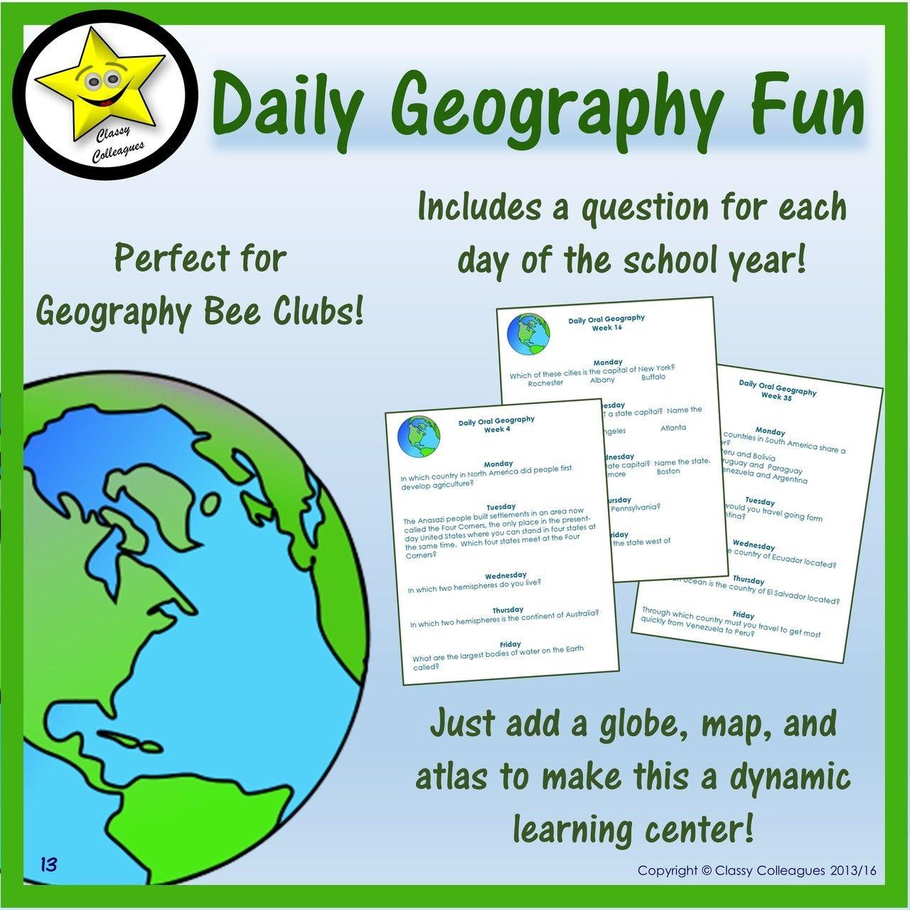 Daily Geography Fun