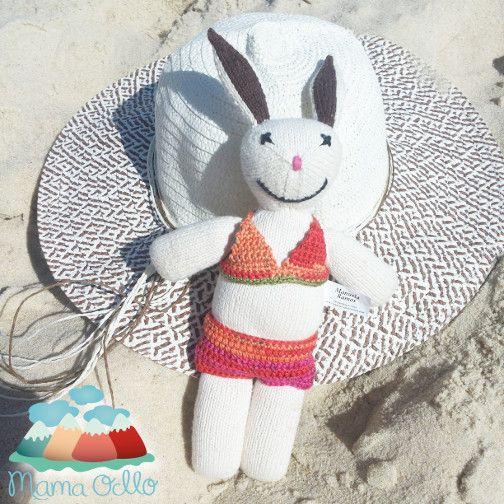 Häkelanleitung für Hasen-Bikini in Kürze im Shop.
