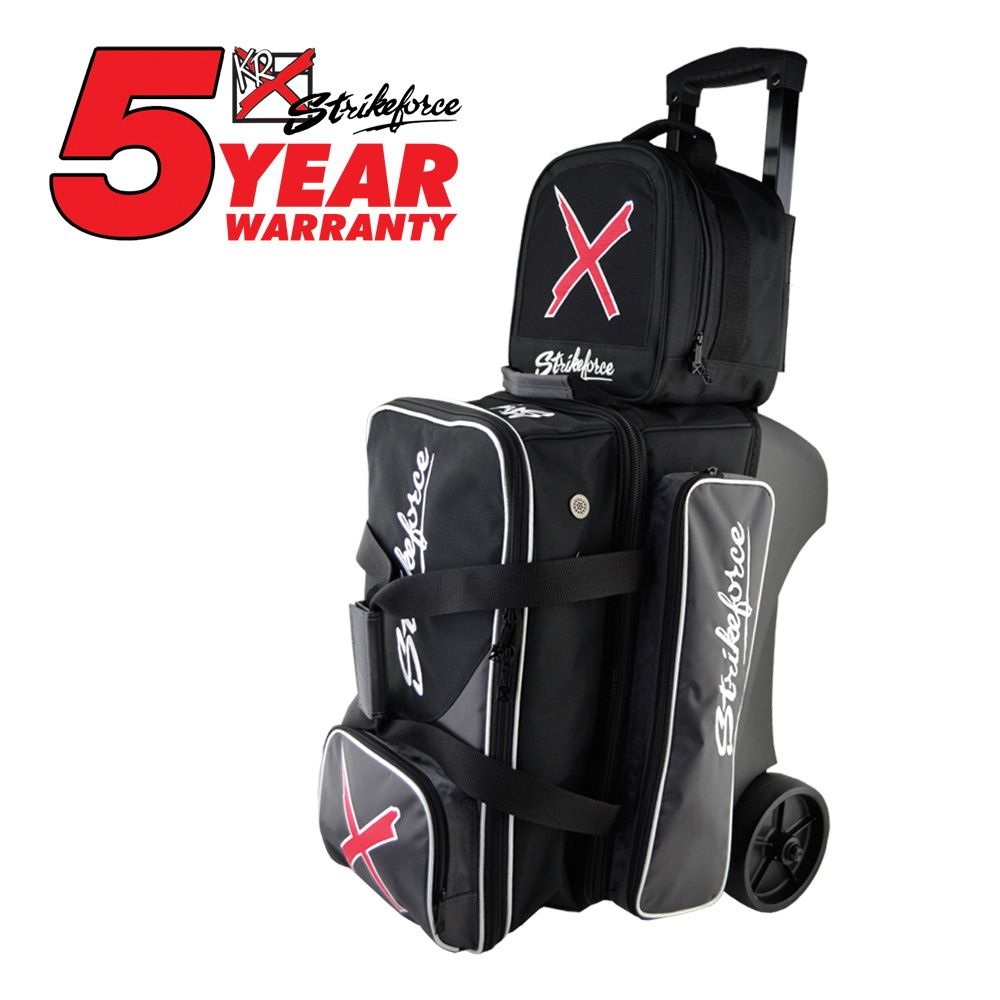 Kr Strikeforce Special Edition 2 3 Ball Roller Golf Bags Bowling Bags Bowling