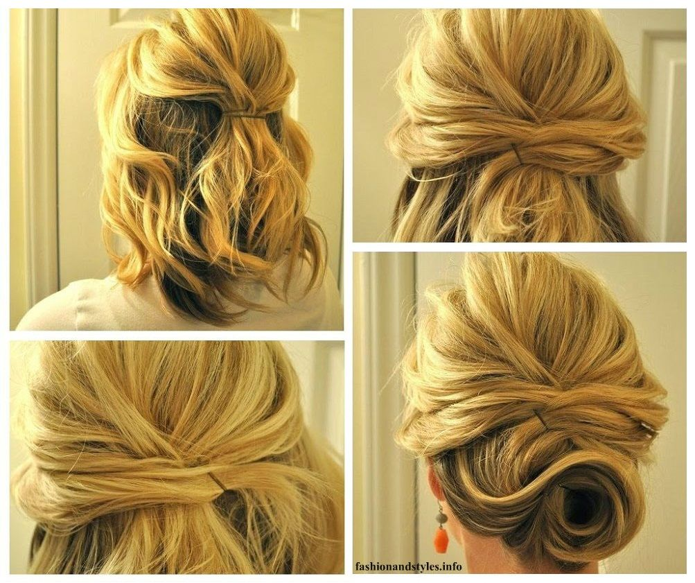 Diy perfect simple updo wedding guest pinterest simple updo