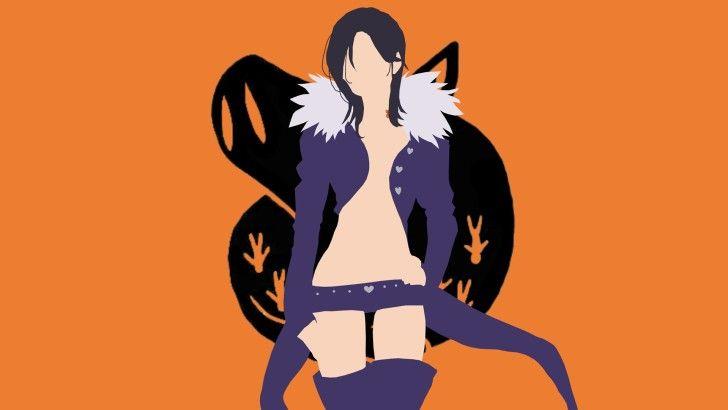 Merlin Seven Deadly Sins Minimalist Anime Wallpaper Nanatsu
