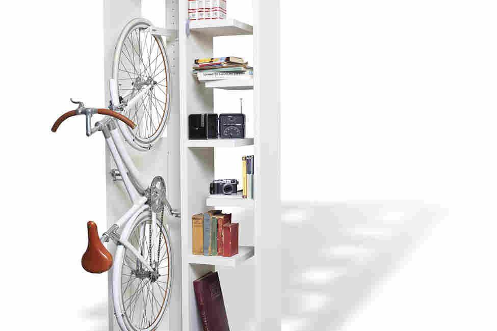 Bookbike — книжная полка с креплением для велосипеда