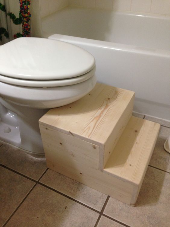 Peachy Toilet Step Stool Do It Yourself Home Projects From Ana Gmtry Best Dining Table And Chair Ideas Images Gmtryco