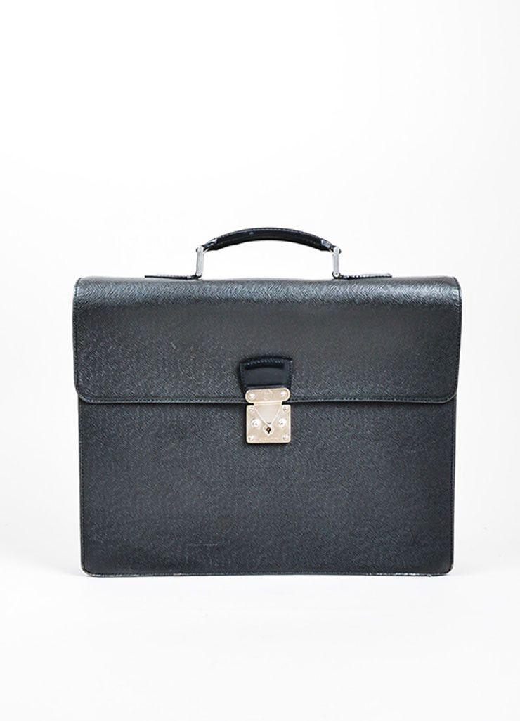 a644f565839f Black Louis Vuitton Taiga Leather Accordian