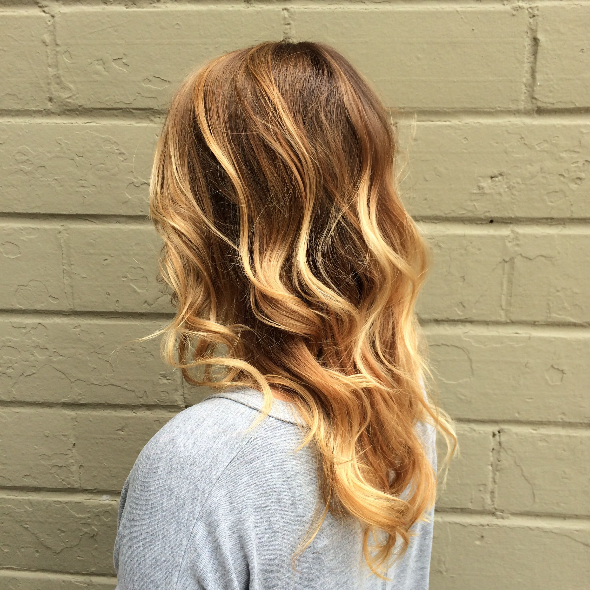 Sombré by suzannah at crown beauty bar davinescolor