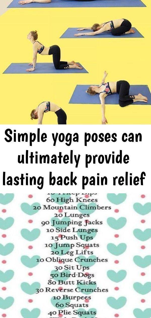 Sanfte Bewegungen Und Einfache Yoga Ubungen Konnen Letztendlich
