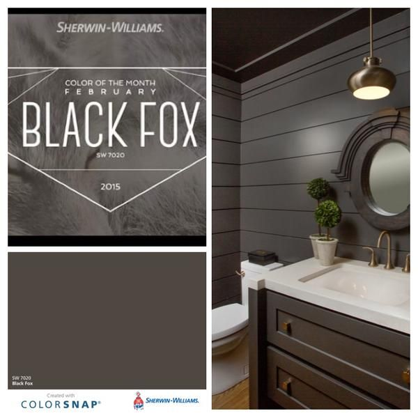 Southern Painting Dallas On Twitter Black Fox Sherwin Williams