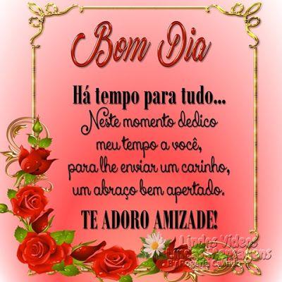 Te Adoro Amizade Bom Dia Blessed
