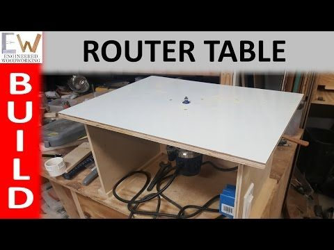 D Make A Simple Router Table To Provide Edge Treatments Projects
