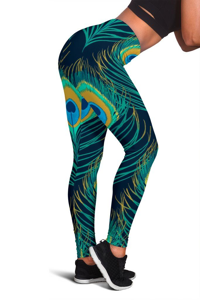 Custom Leggings Peacock Dreams Clothes for women