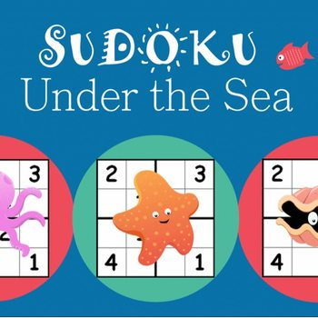 Sudoku Puzzle Worksheet Bundle | Worksheets, Math and Students