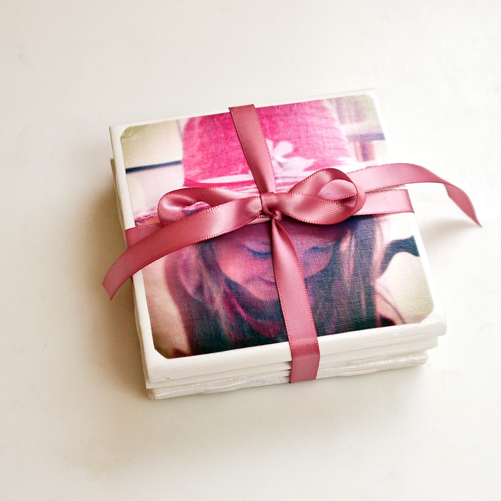 The perfect personalized gift diy tile photo coasters photo