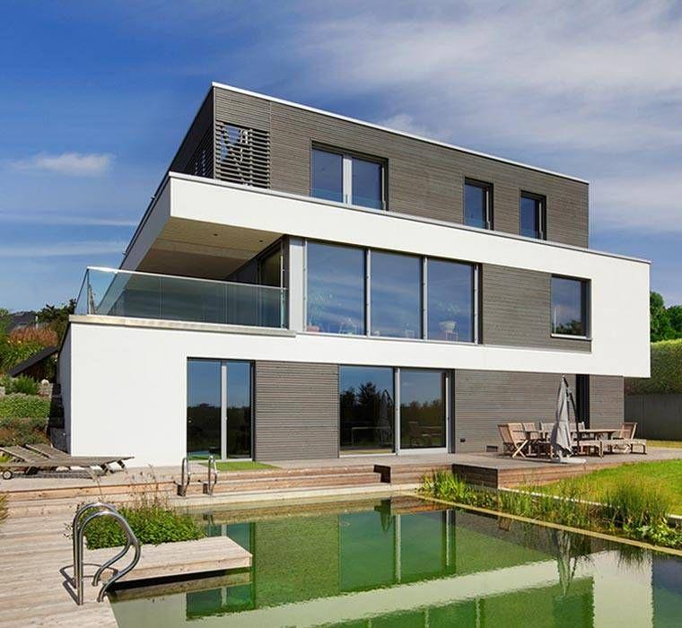Architekt, Baufritz, Bauhaus, Bauhausstil, Bio-Passivhaus, Design ...