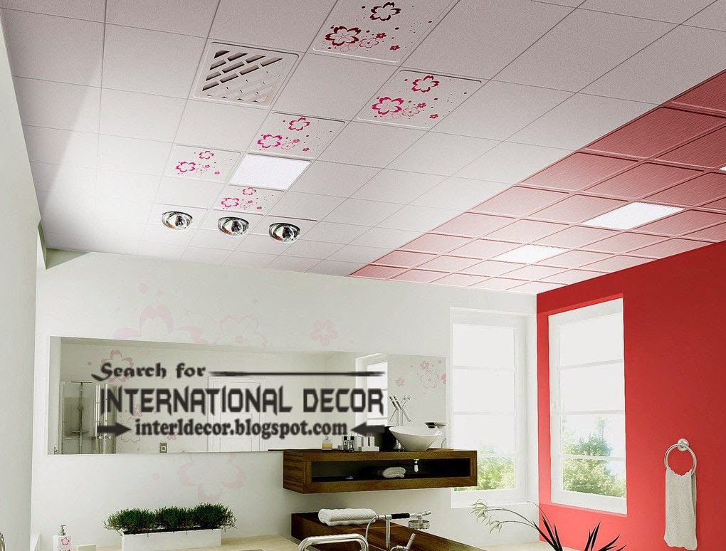 image result for drop ceiling in the bathroom - Drop Ceiling In Bathroom