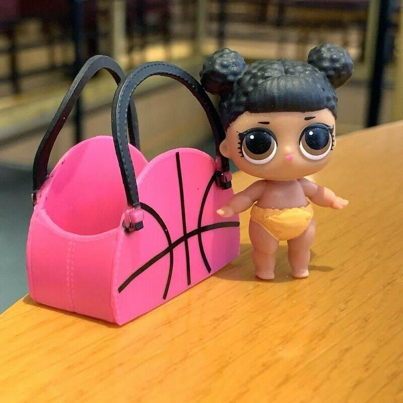 LOL Surprise dolls lil sis hoops mvp /& bag purse accessory set series 2 toy gift