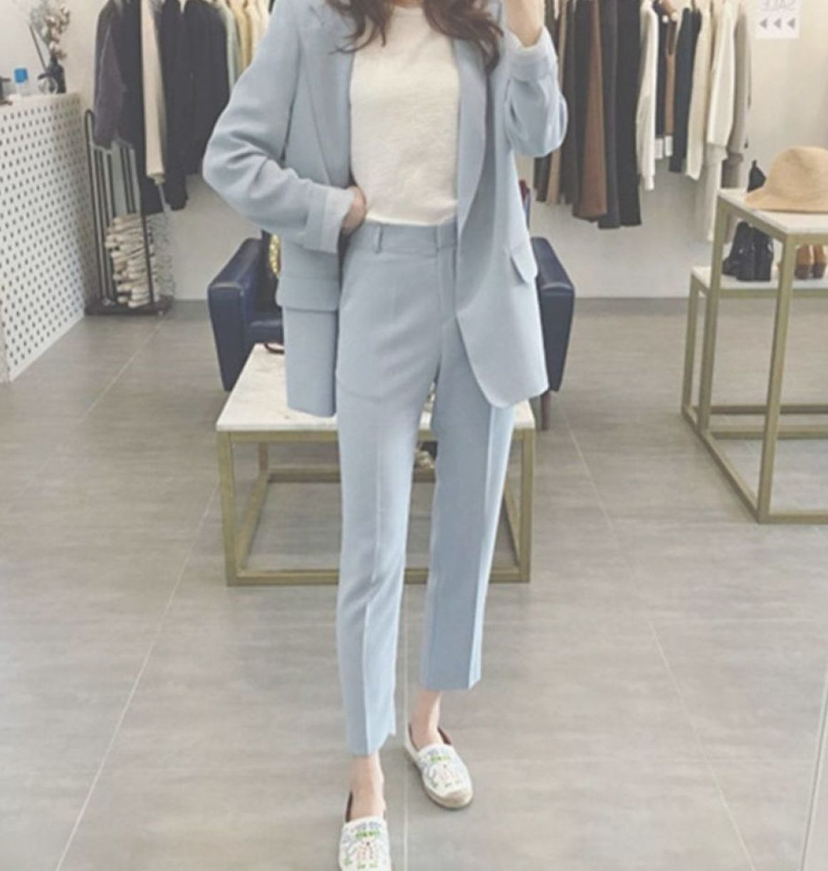 Girls Pant Suit Style