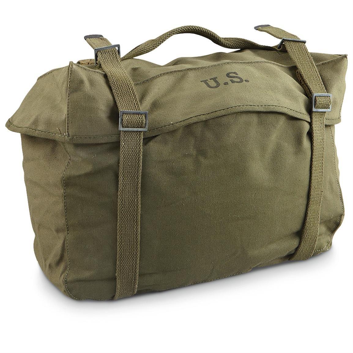 US Military Cargo Bag - Korean War  d2d8f23f87b