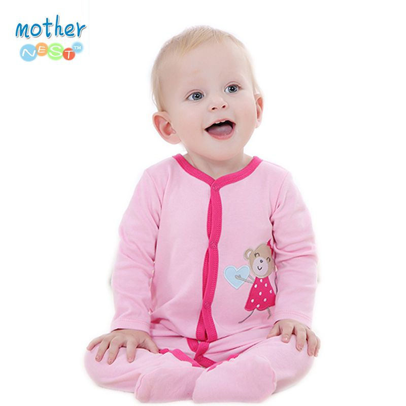 Like And Share If You Want This 2016 Spring Autumn Baby Romper Long Sleeves Baby Clothes Infant Cl Baby Girl Outfits Newborn Newborn Girl Outfits Baby Pajamas