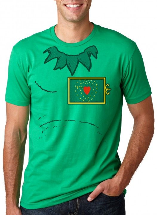 dadcf4f4 What do you say, will you dress up like the Grinch this Christmas? No heart  is too small to love the laugh you'll get when ...