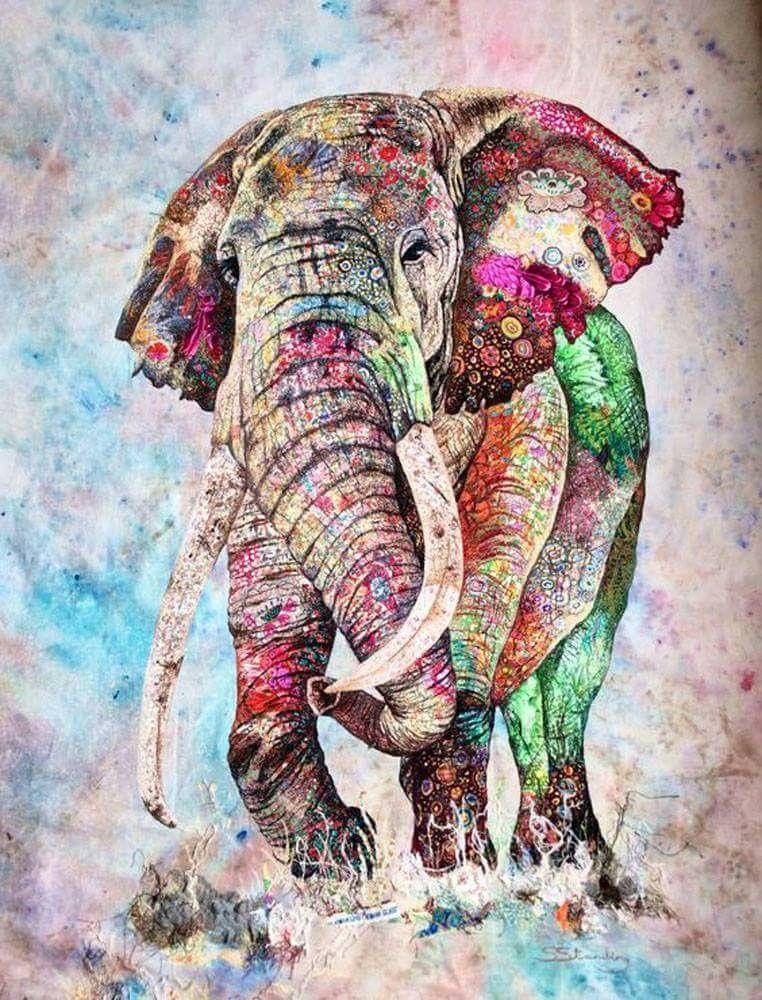 Elephant Wallpaper Artwork Watercolor Pictures Iphone
